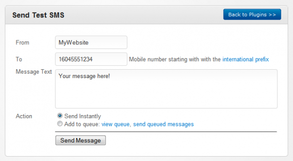 how to manually add messages to message queue
